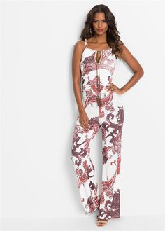 Kombinezon we wzory - na lato Spring Summer 2018, Spring Fashion, Women Wear, Jumpsuit, Boutique, Sexy, Womens Fashion, Overalls Fashion, Dresses