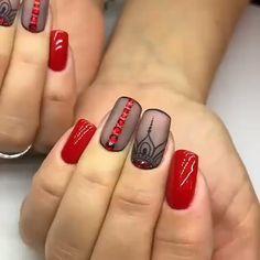 Instagram post by Nails || Nail Art • Feb 15, 2019 at 12:59am UTC