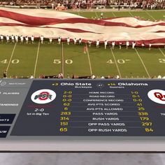 @foxsports is live streaming today's @ohiostatefb vs @ou_football #football #game in #Virtual #Reality #VR #WooT -- @andrewlaudato and I are ready! While no equipment is needed when using the #iPhone app called Fox Sports VR from @itunes this is giving us an excuse to experiment with @google #cardboard and another #VR headset | #Fun #GoBucks  ---- #womenintech #womeninbusiness #startups #startuplife #technology #entrepreneurship #innovation #sports #football #video #virtualreality #VR #AR…
