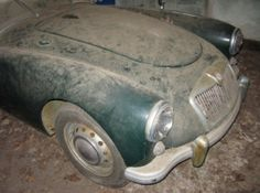 Dusty Garage Find: 1956 MGA Roadster |  Bring a Trailer