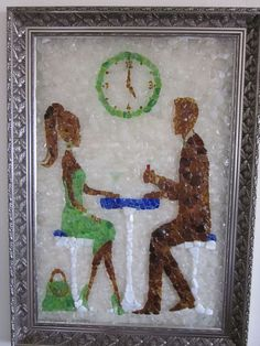 5 O'Clock – SOLD » Dr Jack's Sea Glass Art -