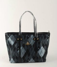c232c1e955e Shopping Vivienne Westwood Derby Orb Tote Bags Black/Gray £94.25,52% off