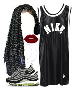 """""""got that heat"""" by aiyanaa ❤ liked on Polyvore featuring NIKE"""