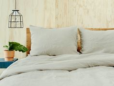 Pure linen quilt cover - I Love Linen