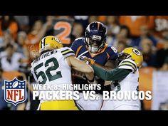 Packers vs. Broncos   Week 8 Highlights   NFL - YouTube