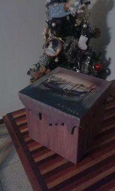 """My decomania: The box """"Memory of Venice"""""""