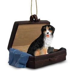 Bernese Mountain Dog Tag Along Carrycase Ornament