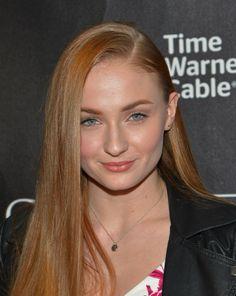 Sansa in real life - Sophie Turner...lovely says Lady Ellen of www.lady-ellen.com