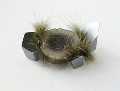 Tina Rath, Mineral Brooch