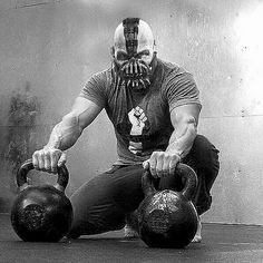 I suppose it would only make sense that this should be my Halloween costume. Great work on this photo, Quasha! My grandma says I look scary. P/S if Bane was StrongFirst, Batman would be fooked! #SokolStrong #StrongFirst