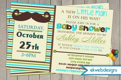 17 Best Little Man Baby Shower Invitations Images Baby Shower For