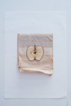 Apple's anatomy.  Mimika Michopoulou for fliqped magazine 2017  #apple #school #paper #stationary #minimal #white #concept #photography #artdirection #creativity #mood #pastel
