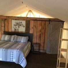 Beautiful rustic wall tent home Luxury Glamping, Luxury Tents, Glamping Tents, Tent Camping, Outdoor Camping, House Tent, Cabin Tent, Castle House, Tent Storage