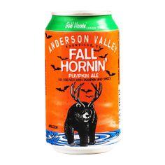 Anderson Valley, CA —Fall Hornin' Pumpkin Ale —12oz / 6% ( Bought 11/26/13 )