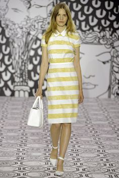 Jasper Conran, SS14 #LFW - color pattern inspiration