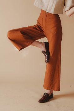 Sandi Pants, Rust
