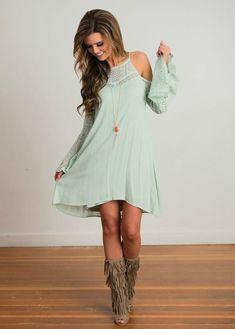 Lace dress online boutique flyer