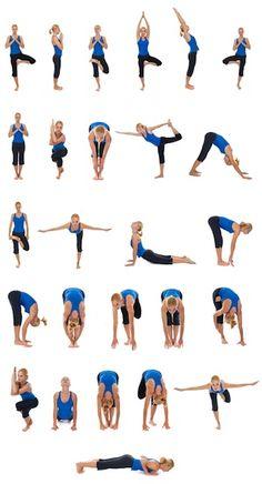 yoga poses ..