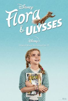 FLORA & ULYSSES (2021) Movies To Watch Now, Kid Movies, Movies And Tv Shows, Movie Tv, Family Movies, Alyson Hannigan, Kate Micucci, Matilda, Movies