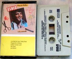 ELVIS sings for CHILDREN and Grownups TOO (CAK-2704) / USA / NM - CASSETTE TAPE