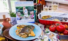 Home & Family - Recipes - Debbie Matenopoulos' Lemon-Baked Whole Mediterranean Trout   Hallmark Channel