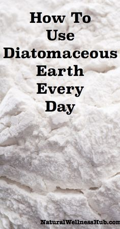 Natural Holistic Remedies How to Use Diatomaceous Earth Every Day—so many uses! - The definitive post on diatomaceous earth! Learn how to use diatomaceous earth for its health benefits and around your home and homestead. Lemon Benefits, Coconut Health Benefits, Coffee Benefits, Health And Beauty, Health And Wellness, Health Tips, Health Care, Health Foods, Natural Cures