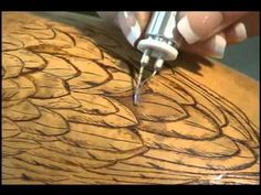 Woodburning on Gourds