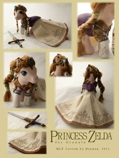 Princess Zelda My Little Pony