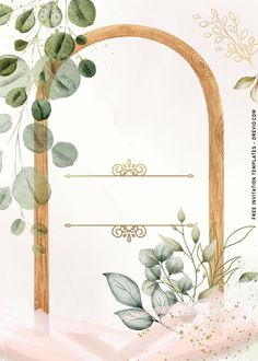 Free 7+ Simple And Elegant Cheers To 60 Years Invitation Templates With Vines The greenery (of all kinds) can make variety of arrangements dance, shimmer and help move all the attention to them. Thus, it makes them work extremely well either as home or even party décor. ...