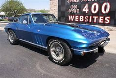 1966 Chevrolet Corvette Stingray Coupe 4-Speed Manual