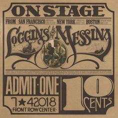 """OFFICIAL RELEASE DATE: AUGUST 4, 2017. Pre-order today!! Highly collectible, limited anniversary audiophile edition of Loggins and Messina """"On Stage"""" pressed on beautiful translucent gold vinyl... #fashion #style #stylish #love #me #cute #photooftheday #nails #hair #beauty #beautiful #design #model #dress #shoes #heels #styles #outfit #purse #jewelry #shopping #glam #cheerfriends #bestfriends #cheer #friends #indianapolis #cheerleader #allstarcheer #cheercomp  #sale #shop #onlineshopping…"""