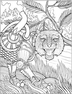 18 Best Steampunk Inspired Adult Coloring Books Images On Pinterest