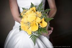 Pieter and Shirleen was such a stunning and laid-back couple to work with. Their wedding had the most awesome vibe and the sound of the rushing water of the Vaal River right behind the ceremony and reception area added so much to the happy mood. River Lodge, Reception Areas, Wedding Gallery, Yellow Roses, Bright Yellow, Bridal Bouquets, Lilies, Fern, Couples