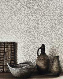 Pure Willow Bough  Ecru/Silver från William Morris & Co