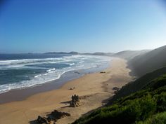 Brenton-on-Sea is great for walking and sunbathing and is popular with paragliders. A big rock formation, castle Rock, is a favourite fishing spot for locals. Swimming is dangerous because of rip currents. West of Knysna Rip Current, Knysna, Castle Rock, Rock Formations, Beaches, Ireland, Fishing, Walking, Swimming