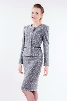 e5af7818e0 Żakiet Astra szara koronka Semper  fashion  aw2016  fw2016  jacket  semper
