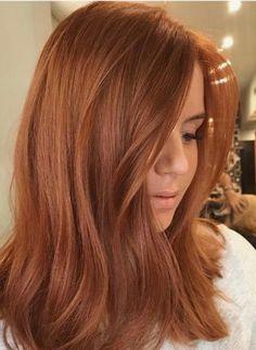 Hair Color Auburn, Red Hair Color, Copper Hair Colour, Short Auburn Hair, Auburn Hair With Blonde, Red Hair For Blondes, Red Hair With Balayage, Auburn Balayage Copper, Auburn Hair Copper