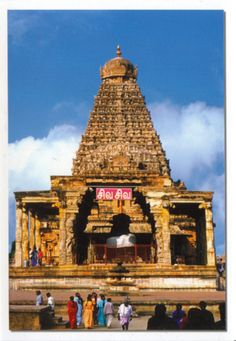The Great Living Chola Temples were built by kings of the Chola Empire, which stretched over all of south India and the neighbouring islands.