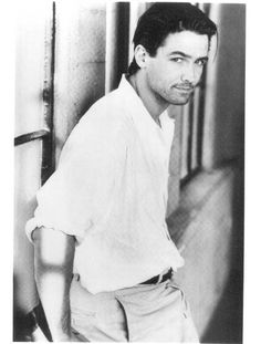 my new plaid pants: Gratuitous Billy Campbell