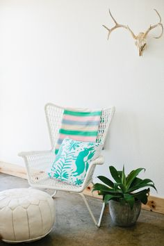 Our serapes and pillows will add the perfect pop of color to your desert oasis this summer!