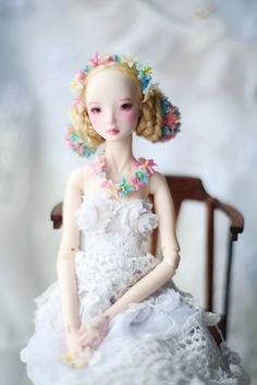 An amazing customizing job of an Enchanted Doll by the owner.