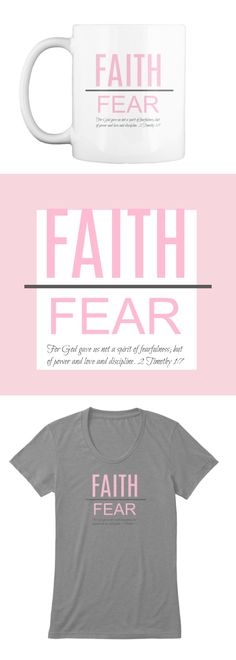 """What a great gift for Breast Cancer Awareness month, or for anyone who needs encouragement! """"For God gave not a spirit of fearfulness; but of power and love and discipline."""" 2 Timothy 1:7"""