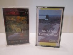 Vintage Cassette Tapes  Easy Listening  Country Roads or