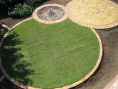 circular lawn edging - Google Search
