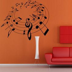 Wall Decal Art Decor Decals Sticker Note Charter Music Melody Room Design Musical Notation (M871) DecorWallDecals http://www.amazon.com/dp/B00I469I46/ref=cm_sw_r_pi_dp_qkp2ub0A1NT38