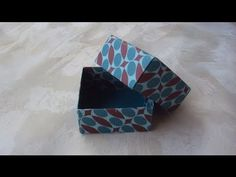 ▶ Scatoline origami (tutorial) - YouTube