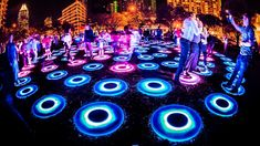 Artist Jen Lewin transforms public space with large-scale, interactive installations -- from geometric colorfully-lit leaping pads to giant laser harps open to all. At TEDxMileHigh, she explains he...