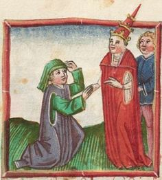 Jakob Twinger von Königshofen. Ulrichslegende [u.a.] Augsburg, 1468 Cgm 568  Folio 316