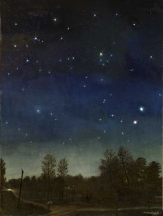 Warren Criswell, Conjunction, 2012, oil on canvas, 48 x 36 inches