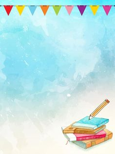 Teachers Day Hand Drawn Background Illustration Paper Background Design, Mother's Day Background, Powerpoint Background Design, Watercolor Logo, Watercolor Background, Flower Backgrounds, Wallpaper Backgrounds, Page Borders Design, Photo Frame Design